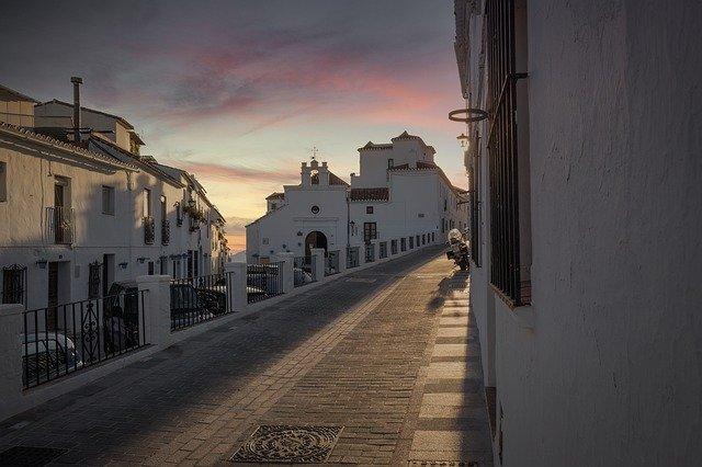 スペインの街