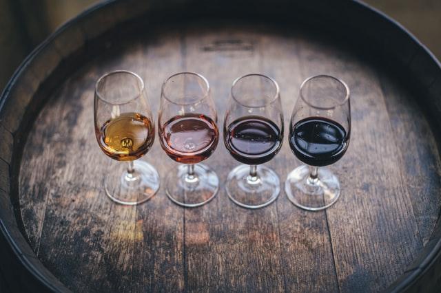 複数のワイン